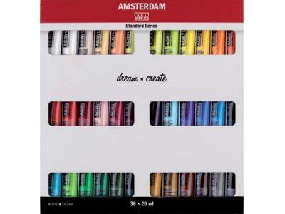 Amsterdam Acryl Standaard Set 36x 20ml